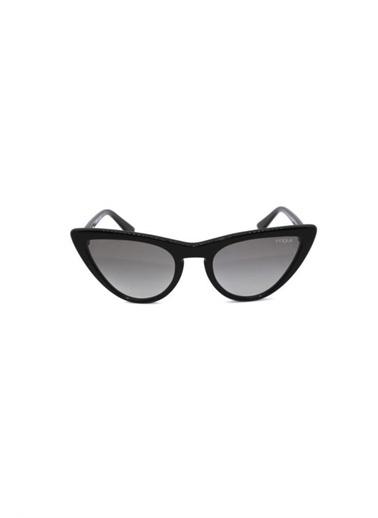 Vogue Vo5211Sm W44/11 54 Bayan Güneş Gözlüğü Siyah